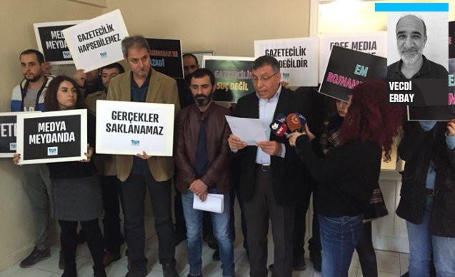 '187 gazeteci gözaltına alındı'