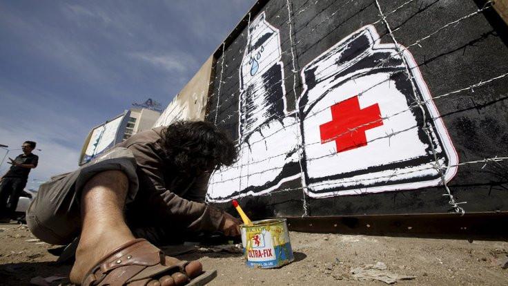 Yemenli Banksy: Sanat barışa çağrıdır!