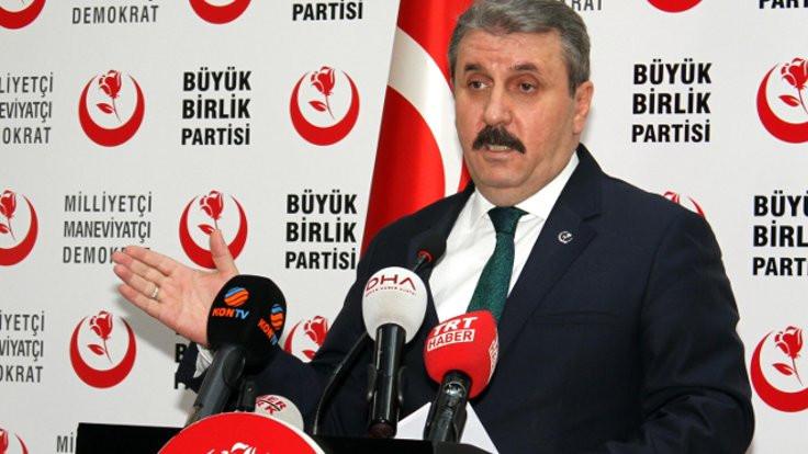 Destici'den 'ittifakta BBP olmasın' diyen MHP'ye yanıt: Kimseye müdana etmiyoruz
