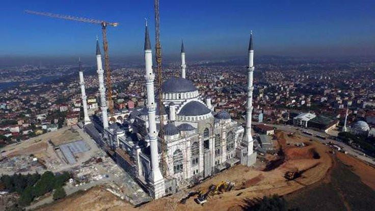 Çamlıca Camii yetişmedi