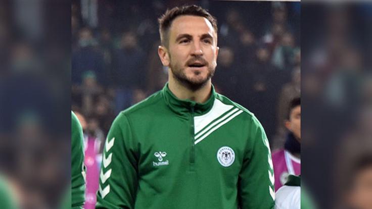 Konyaspor, kaptanın sözleşmesini feshetti
