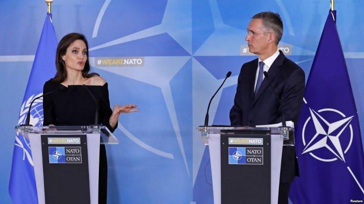 Jolie'den NATO'ya 'cinsel şiddet' uyarısı