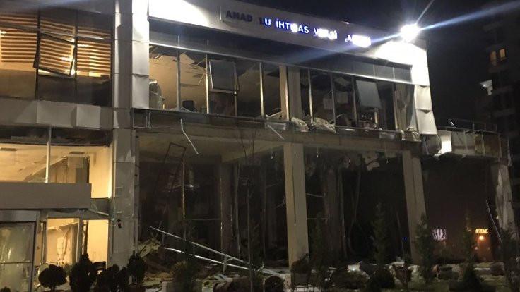 Ankara'da vergi dairesinde patlama: 3 kişi yaralandı