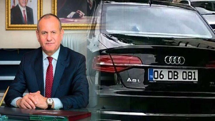 Eski başkanın Audi'si satıldı