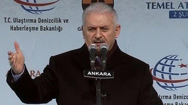 Yıldırım: Afrin'den 82 roket atıldı