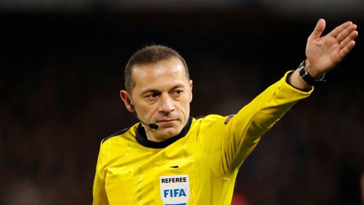 Süper Kupa finalini Cüneyt Çakır yönetecek