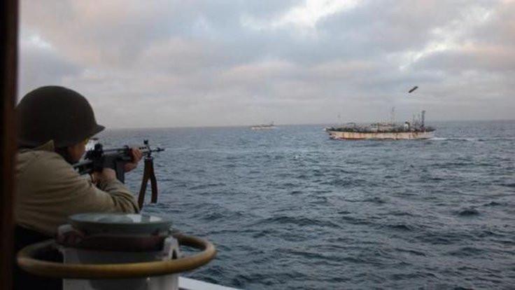 Arjantin Çin gemisine ateş açtı!