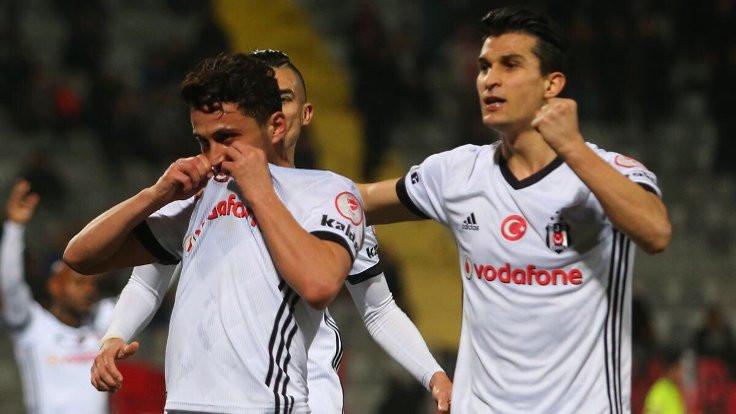 Türkiye Kupası'nda ilk yarı finalist Beşiktaş