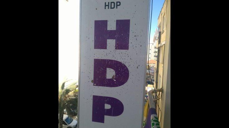 HDP Antalya binasına silahlı saldırı