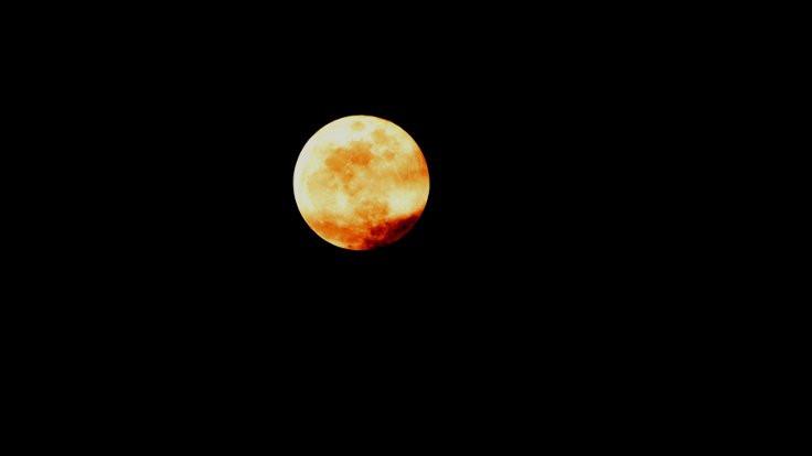 'Kanlı Ay'ın en güzel fotoğrafları...