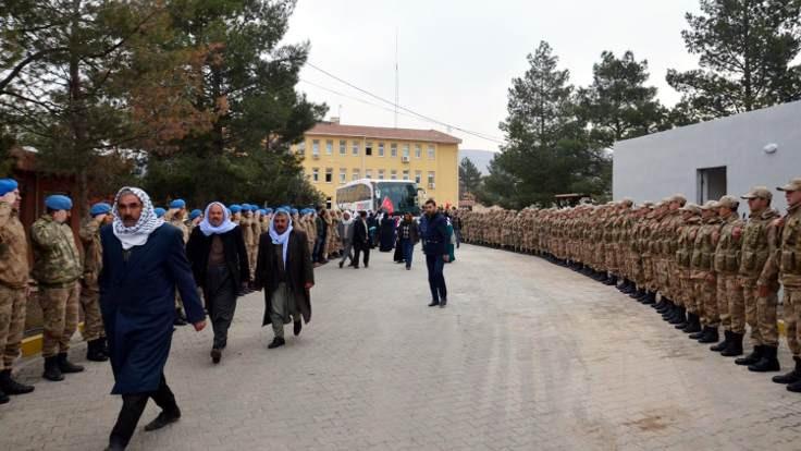 Korucular da Afrin'e gönderiliyor