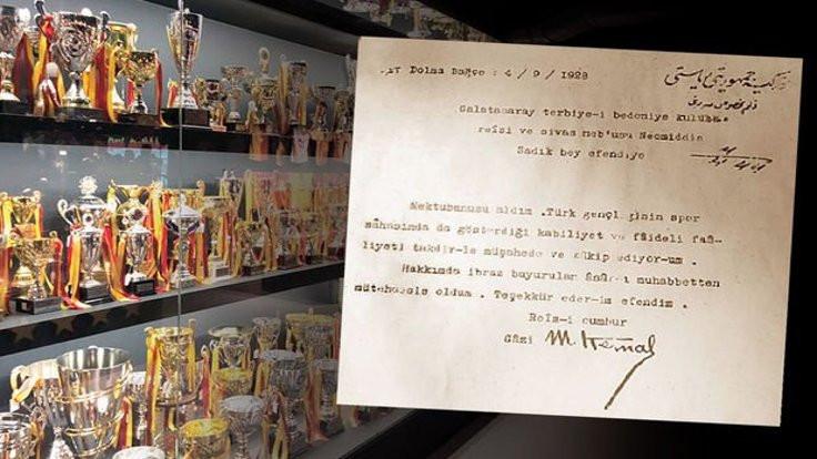 'Galatasaray'ın Atatürk mektubu şaibeli'