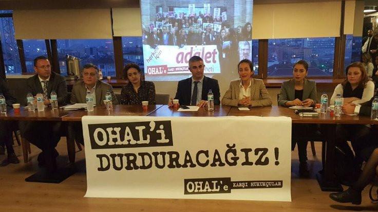 OHAL'e Karşı Hukukçular: Savunma hakkı ve mesleğimizi savunuyoruz