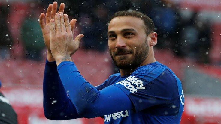 Everton Cenk'in golleriyle galip!