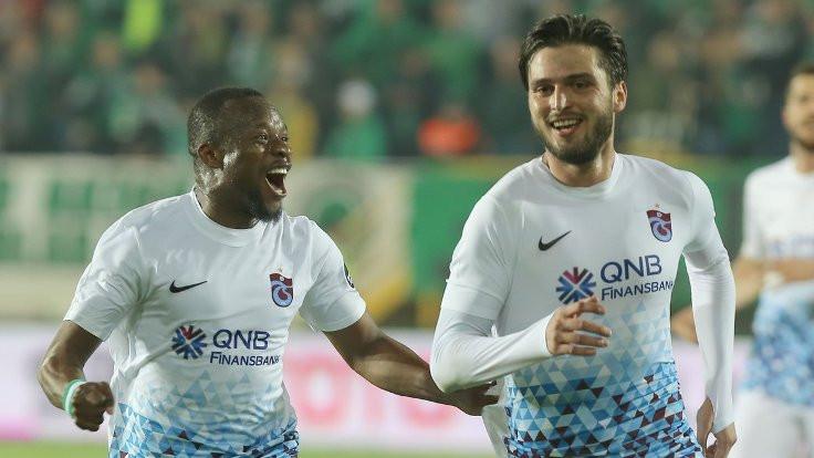 Trabzonspor kazandı, Akhisar'ın serisi sona erdi