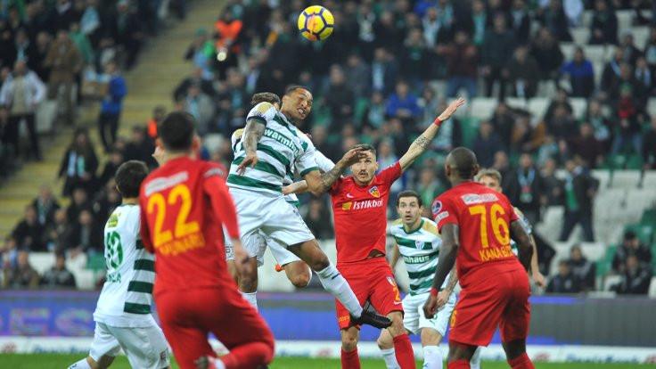 Bursaspor 9 maç sonra kazandı