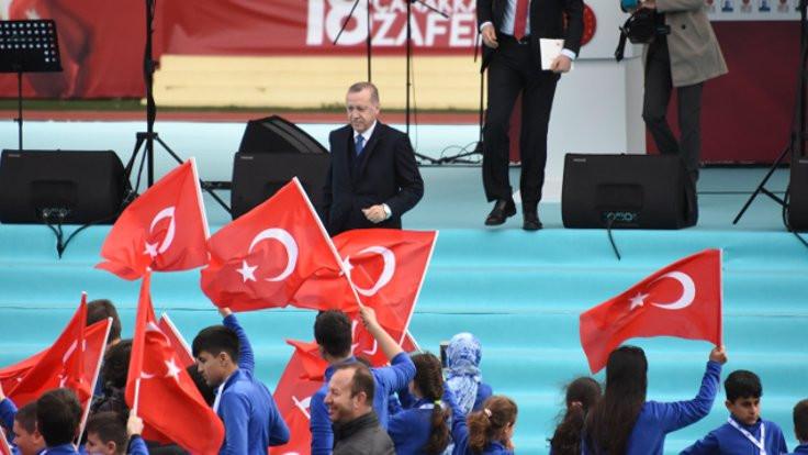 Erdoğan: Afrin'de Türk bayrağı dalgalanıyor