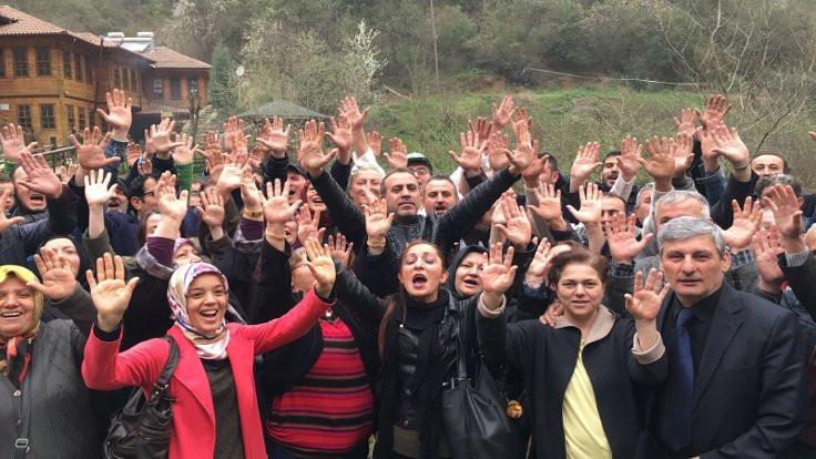Haluk Levent'ten 'alkış'lı HES protestosu