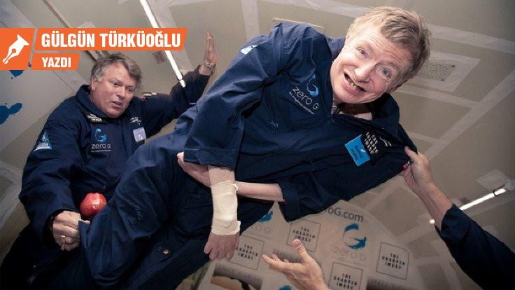 Bedeninden kurtulan bir nüktedan: Hawking