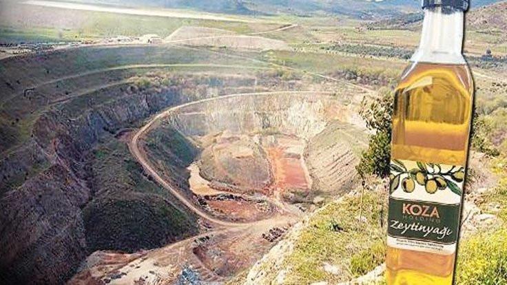 Siyanürlü altın madeninin zeytinyağı keşfedildi!