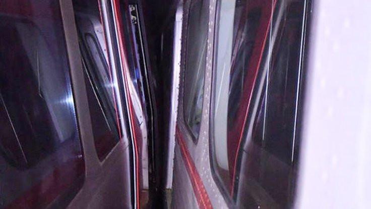 Ankara metrosunda kaza: Seferler durdu