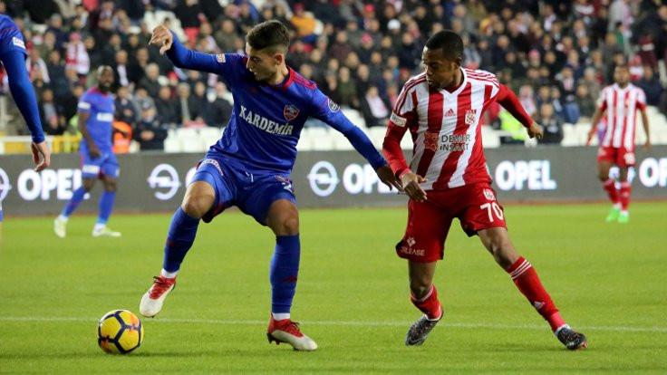 Haftanın ilk maçında kazanan Sivasspor