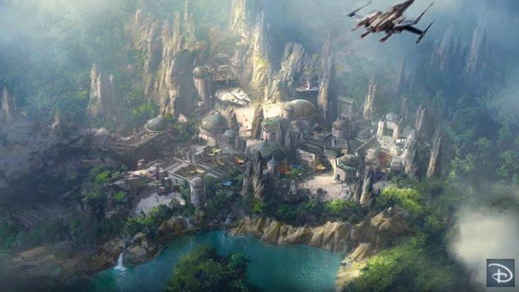 Star Wars parkı!