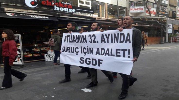 Ankara'da Suruç eylemine izin verilmedi