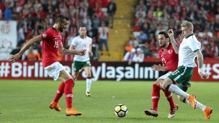 Türkiye, İrlanda'yı tek golle mağlup etti
