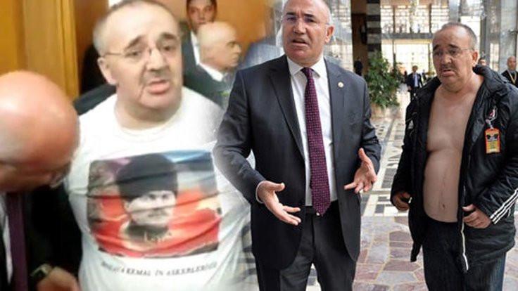 Meclis'te Atatürk tişörtü: Gitti, geldi!