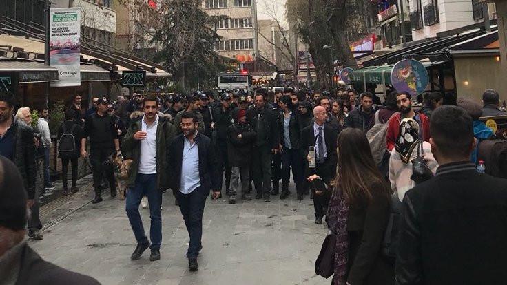 Yüksel Caddesi'ndeki 500'üncü eyleme izin verilmedi