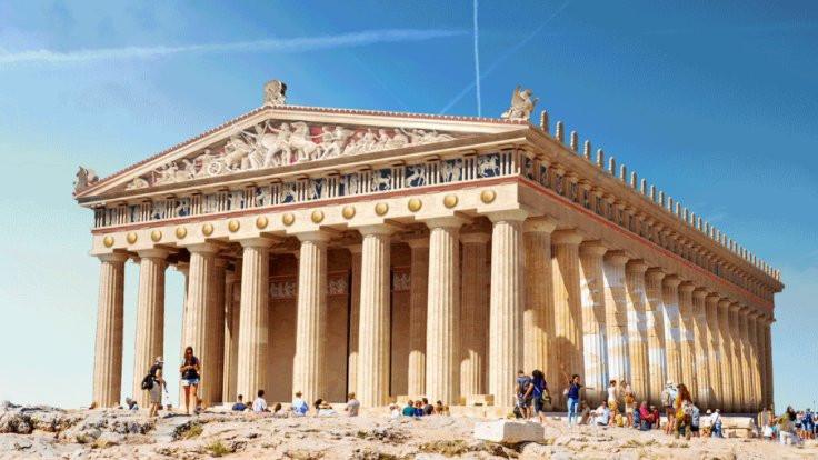 Antik yapıları yeniden canlandırdılar!