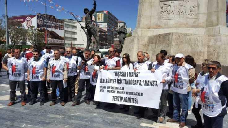 Ankara'da işçilere 1 Mayıs çağrısı