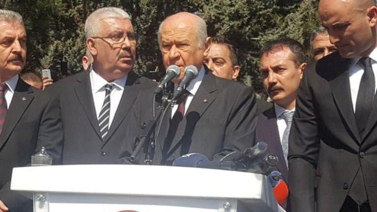 Bahçeli: Kaçanlara inat bugün MHP ayaktadır