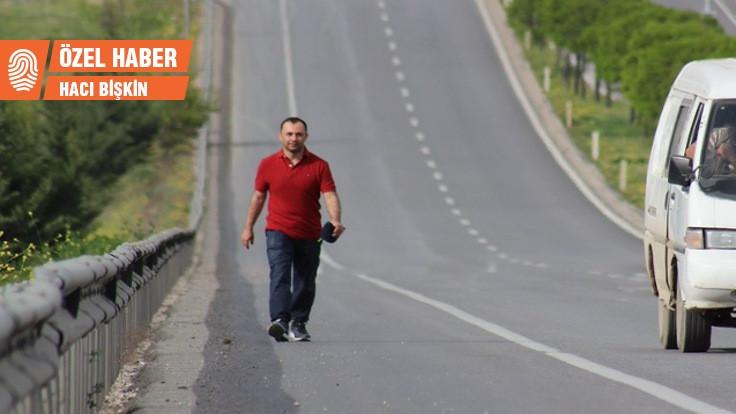 Barış için Diyarbakır'a yürüyen aday