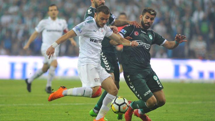 Bursaspor, 6 dakikada gelen gollerle kazandı