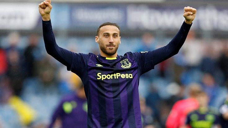 Cenk Tosun attı, Everton puanını 48'e çıkardı