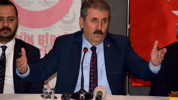 Destici'den CHP'ye 100 trilyonluk seçim güvenliği önerisi