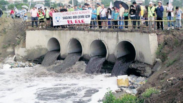'Ergene'nin kirli suyu Marmara'ya gelecek'