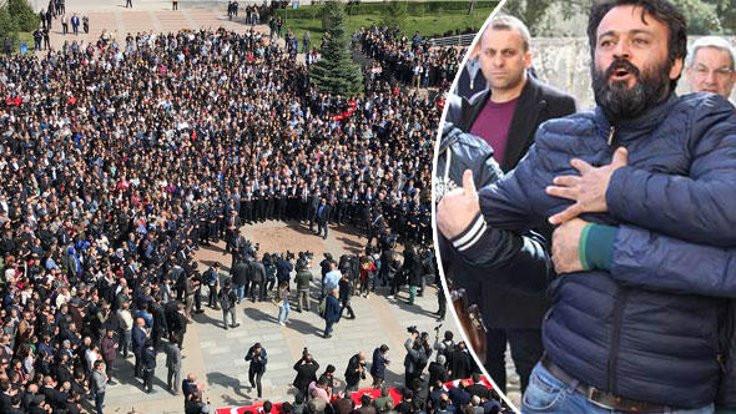 Eskişehir'deki törende ailelerden rektöre tepki