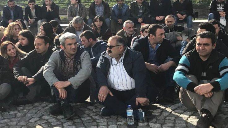 Ataşehir Belediyesi'nde taşeron eylemi