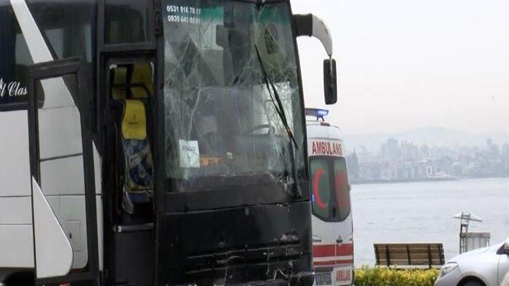 Tur kazası: Çok sayıda öğrenci yaralandı