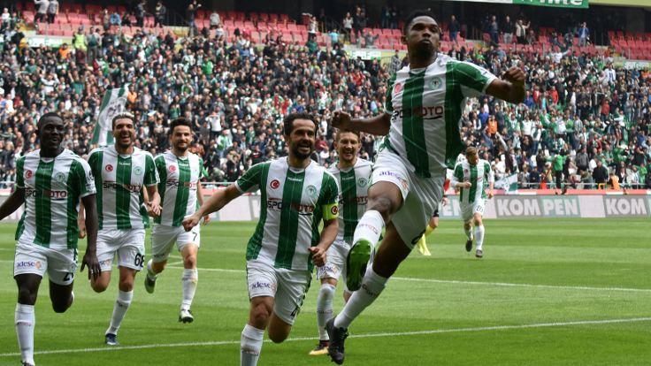 Atiker Konyaspor, farklı kazandı