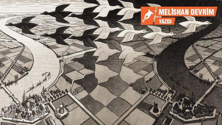 Escher: 'İmkansız perspektifler'in dansı!