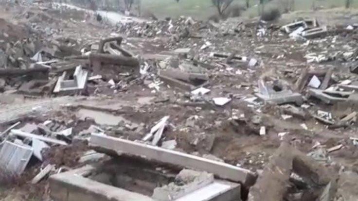 Garzan mezarlığı BM'ye taşınıyor