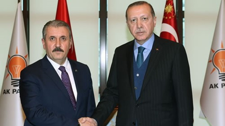 Cumhurbaşkanı Erdoğan, Mustafa Destici ile görüştü