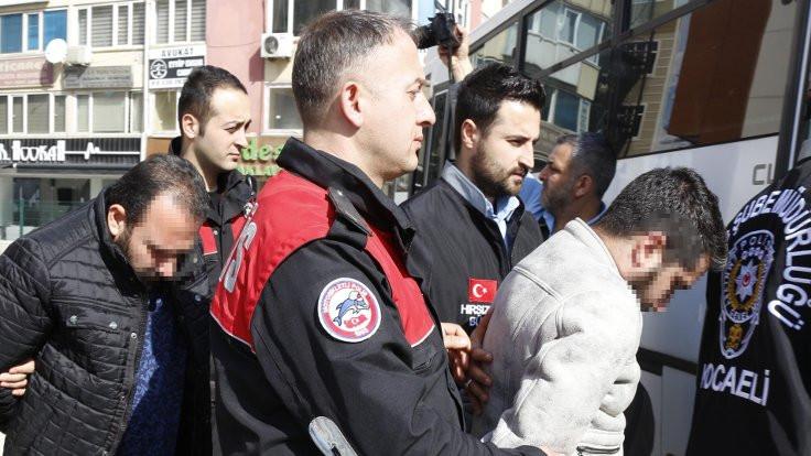 'Ofsayt'ta 14 tutuklama