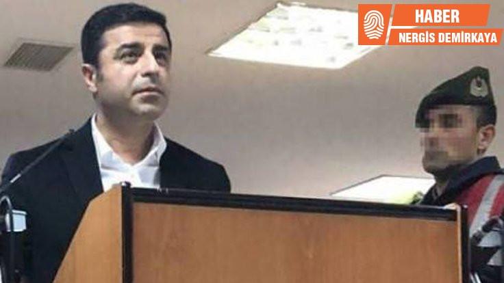 Demirtaş'ın tutukluluk halinin devam kararı