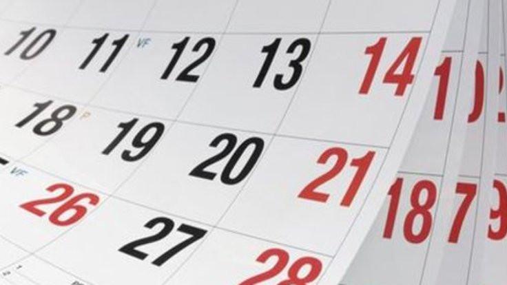Resmi tatiller hangi güne geliyor?