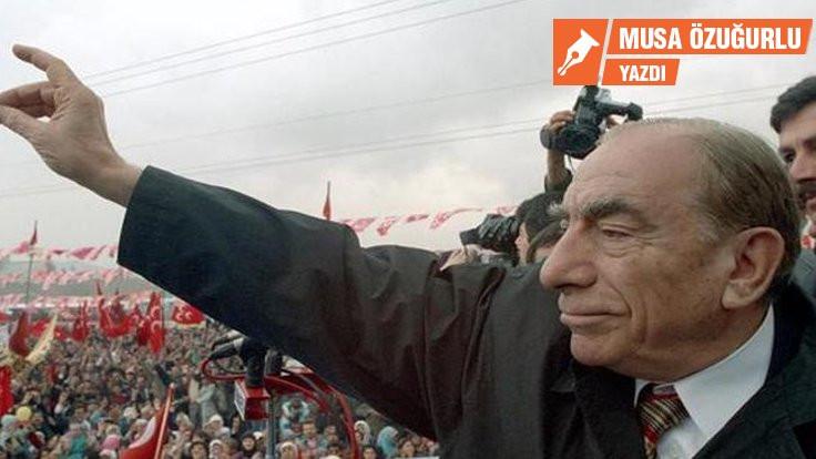 'Türkeş mezarından kalksa'